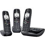 Téléphone fixe Sans fil Gigaset AS405A Trio Noir