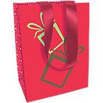 Sac cadeau Papier Cadeaux de Noël Clairefontaine 25cm (H) x 19cm (l) Assortiment