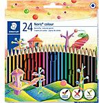 Crayons de couleurs STAEDTLER Wopex Noris    24