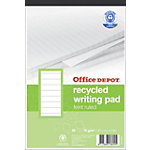 Bloc de bureau recyclé Office Depot A5+ BP084 70 g