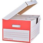 Fliptop Office Depot 25,5 (H) x 54,5 (l) cm Blanc   10