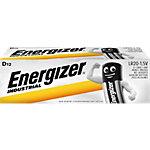 Piles Energizer Industrial D Paquet 12