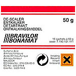 60 sachets de 50g de detartrant Bravilor pour machine a cafe Bravilor