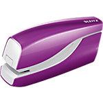 Agrafeuse électrique Leitz WOW 10 Feuilles Violet