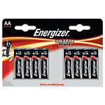 Piles ENERGIZER Alcaline Power Standard AA AA 1.5 V   8