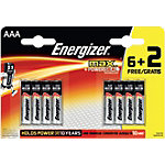 Piles Energizer Max AAA Paquet 8
