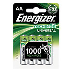 Piles Energizer Rechargeables AA AA 1.2 V   4