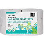 Rouleaux de papier toilette Highmark 2 épaisseurs   6 Rouleaux