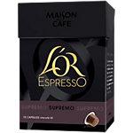 Capsules de café L'OR EspressO Intensité10   10