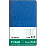 Piqûre standard verticale Exacompta Journal folioté 80 Pages 110 g
