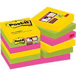 Notes repositionnables Post it Super Sticky 47,6 (H)  x  47,6 (l) mm 70 g