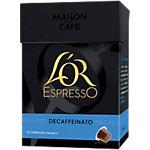 Capsules de café L'OR EspressO Intensité 6   10