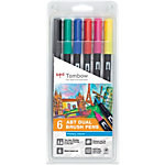Feutres Tombow Fin Assortiment   6