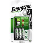Chargeur + piles rechargeables Energizer EU Plug Maxi LR6