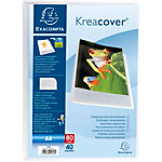 Protège documents Exacompta Krea Cover A4 Transparent 40