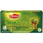 Sachets de thé Lipton Marrakech menthe Menthe   20 Unités