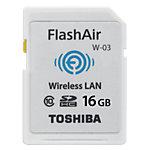 Carte mémoire SDHC Toshiba Blanc