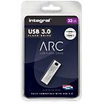 Clé USB Flash Integral ARC 32 Go Argenté