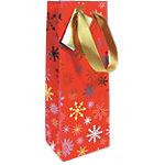Sac cadeau Papier Noël Clairefontaine 38cm (H) x 12,5cm (l) Assortiment