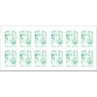 Timbres postaux autocollants La Poste Courriers et colis légers (20 g) Vert     12