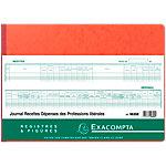 Journal de recettes et dépenses professions libérales Exacompta 80 Pages 110 g