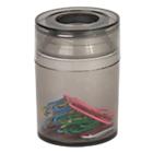 Pot à trombones magnétique Office Depot 6,2 (H) x 6,2 (P) cm Fumé