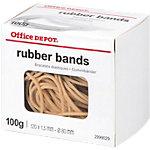 Bracelets élastiques en caoutchouc Office Depot 100 g   Sac de 100 g