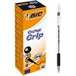 Stylo à bille BIC Cristal Grip Noir   20