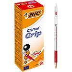 Stylo à bille BIC Cristal Grip Rouge   20