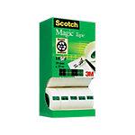 Ruban adhésif Scotch 19mm (l) x 33m (L) Magic   14 Rouleaux