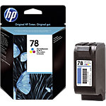 Cartouche jet d'encre HP D'origine 78 3 Couleurs C6578D