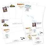 Cartes de visite Papier Xerox 128 x 82 mm et 105 x 145 mm (I)  Blanc   1000