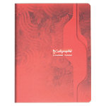 Cahier piqué Calligraphe A5+ Piqué grands carreaux 96 Pages 70 g