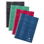 Cahier double spirale Clairefontaine A4 METRIC 90 g