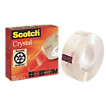 Ruban adhésif Scotch 19mm (l) x 33m (L) Crystal Clear 600