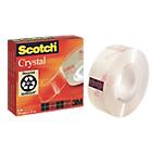Ruban adhésif Scotch 19mm (l) x 33m (L) Crystal Clear 600
