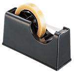 Dévidoir pour adhésif ELAMI 19mm (l) x 66m (L) DEV66N Noir
