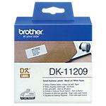Étiquettes d'expédition Brother DK11209 62 (L) x 29 (l) mm Blanc   800