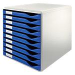 Bloc de classement   Leitz   10 tiroirs   Bleu