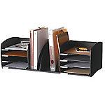 Organiseur blocs de classement Paperflow 8 Cases + trieur 22 (H) x 32,5 (l) x 79,6 (L) cm Noir