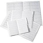 Répertoire pour semainier Office Depot Eco 1 Semaine sur 2 pages 2017 Noir