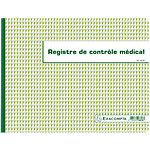 Registre contrôle médical Exacompta Médical 24 x 32 cm 60 Pages