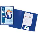 Chemise de présentation personnalisable Exacompta Krea Cover A4 Bleu