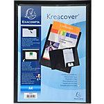 Chemise de présentation personnalisable Exacompta Krea Cover A4 Noir