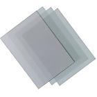 100 couvertures transparentes PVC   Niceday   A4 pré perforées