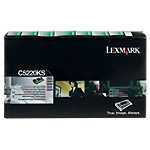 Cartouche De Toner D'origine Lexmark C5220KS Noir
