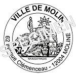 Embellisement de tampon   logo officiel Marianne Trodat