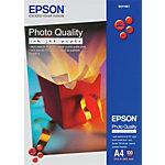 100 Feuilles de papier photo   Epson   papier mat   A4 100g