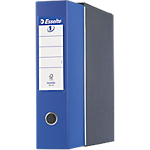 Registratore Esselte Eurofile blu 2 80 mm 31,5 (h) x 8 (l) cm