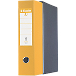 Registratore Esselte Eurofile giallo 2 80 mm 30 (h) x 8 (l) cm